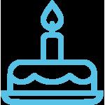 Наборы для свадебного торта с гравировкой